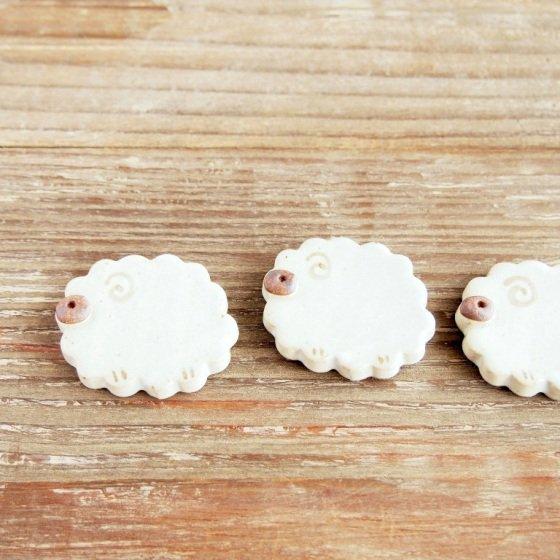 羊カトラリーレスト 箸置き 美濃焼 縁起物