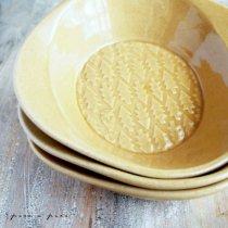よしざわ窯 キャメル 森のスープ皿