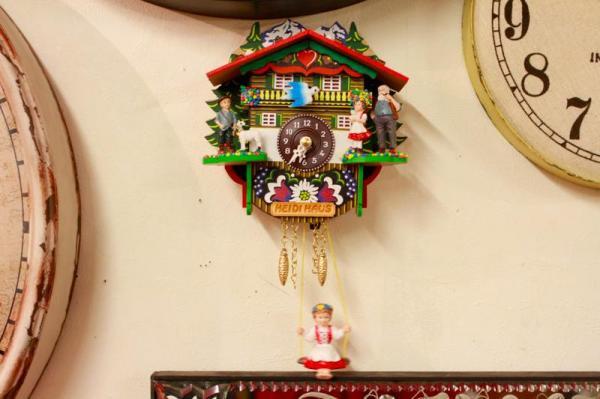 ドイツ ミニチュア鳩時計 ハイジ
