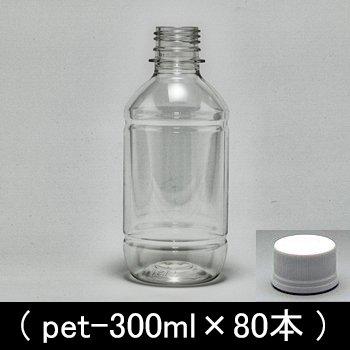 ペットボトル容器【300ml×76本】28mmキャップ付き