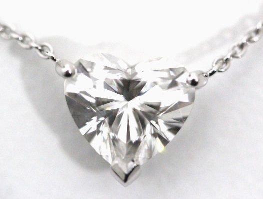 GRAFF グラフ ダイヤ 2.13ct ネックレス Pt950  ハートシェイプ ダイヤモンド