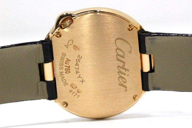 カルティエ WJBL0008 K18PGバロン ブラン ドゥ ダイヤ クオーツ レディース 時計 画像02