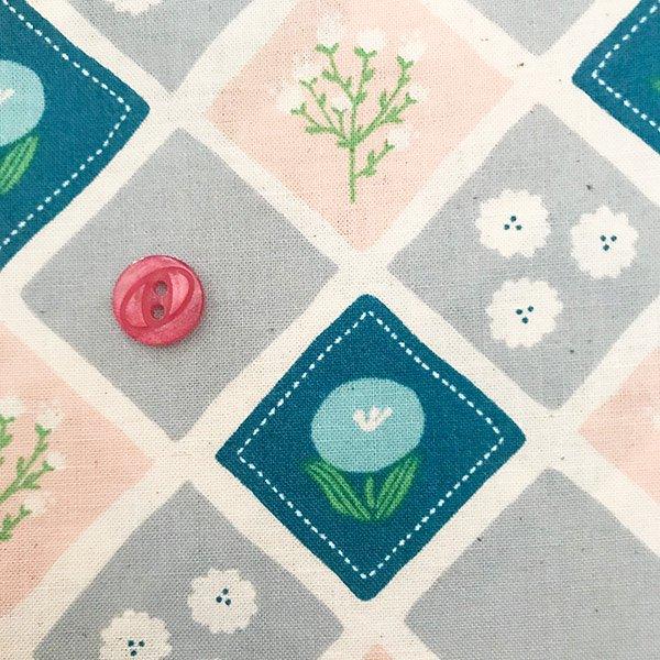 春の花の布1(50cm)