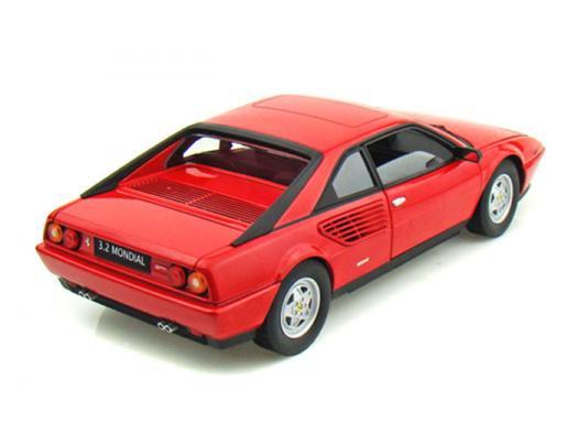 Hotwheels 1:18 Elite Ferrari 3.2 Mondial Druckguss Rot