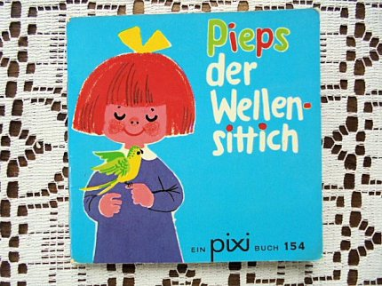 Pieps der Wellensittich :ピクシー絵本