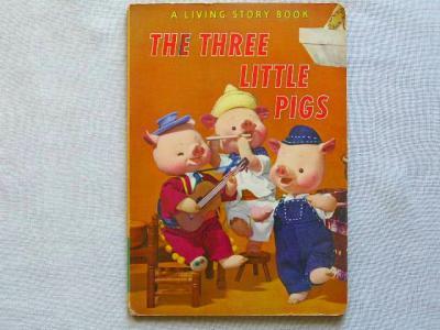 THE THREE LITTLE PIGS :飯沢匡/土方重巳  THE THREE LITTL