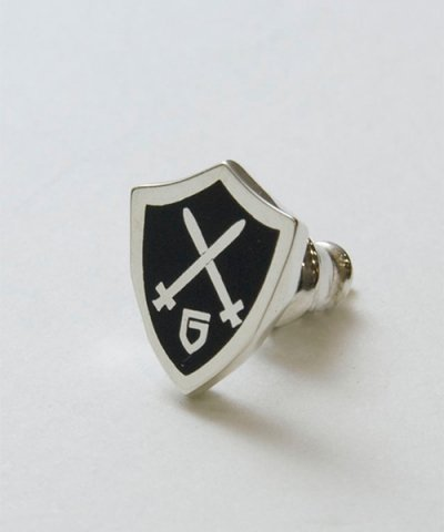 GARNI / Shield Emblem Pierce No.2