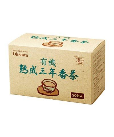オーサワ / 有機熟成三年番茶  ティーバッグ