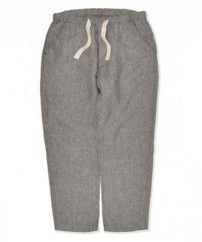 ANACHRONORM / CHECK LINEN EASY TROUSERS