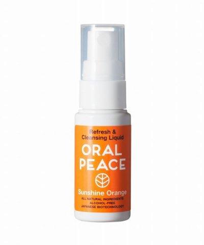 ORALPEACE / オーラルピース マウススプレー&ウォッシュ サンシャインオレンジ
