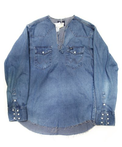 Old Park / TUNIC SHIRT -DENIM-