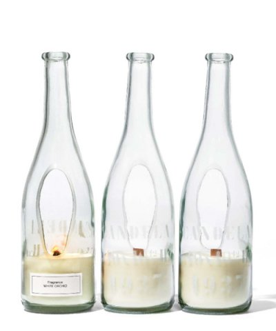 PUEBCO / WINE BOTTLE CANDLE