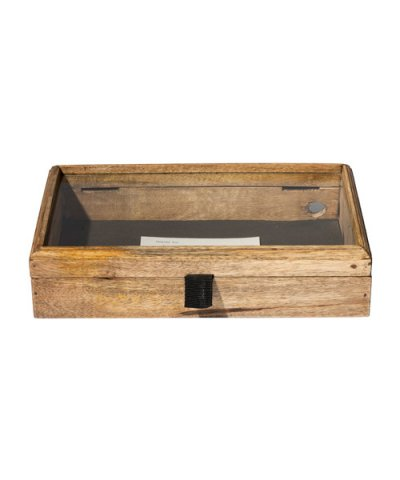 PUEBCO / WOODEN DISPLAY BOX SMALL