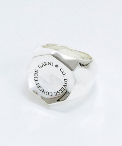 GARNI(GR13108)  / DC Stamp Ring - L