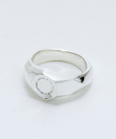 GARNI(GR13109)  / DC Stamp Ring - S