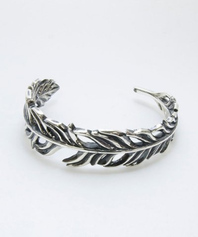 GARNI(GB09012)  / Rag Feather Bangle