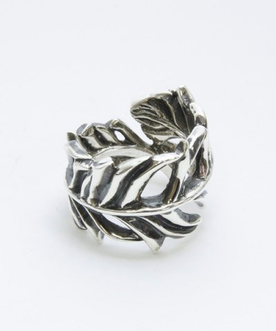 GARNI (GR09044)  / Rag Feather Ring