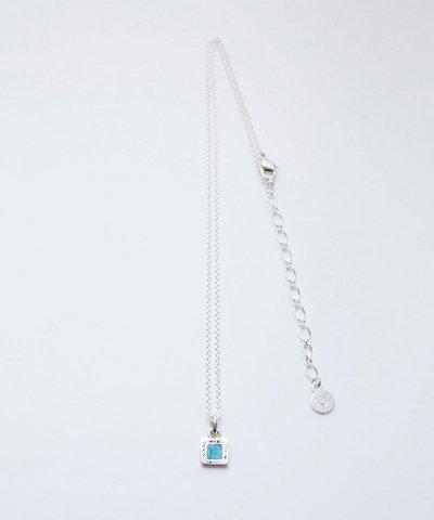 GARNI(GN16068)  / Square Turquoise Pendant - S