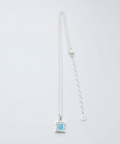 GARNI (GN16067)  / Square Turquoise Pendant