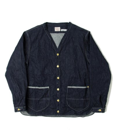 ANACHRONORM / DENIM SHIRT-CARDIGAN
