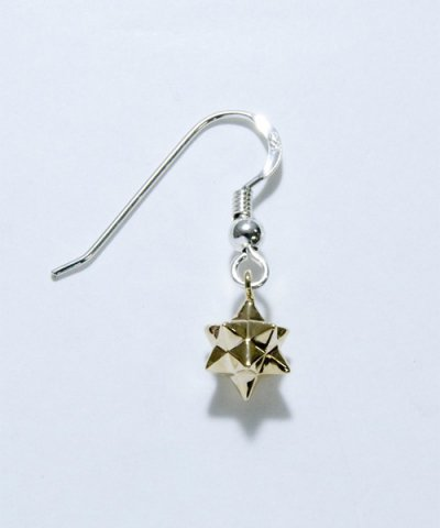 GARNI / K10 Cubic Star Hook Pierce