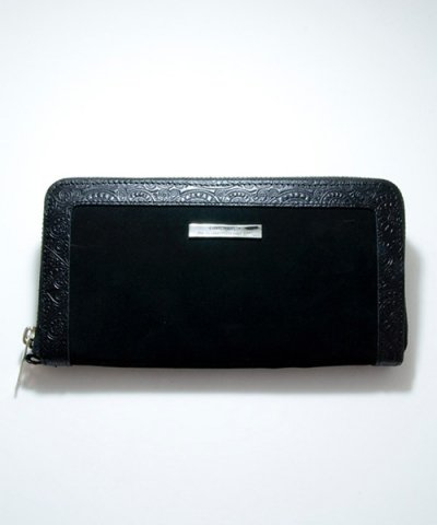 GARNI / Vine Frame Zip Long Wallet