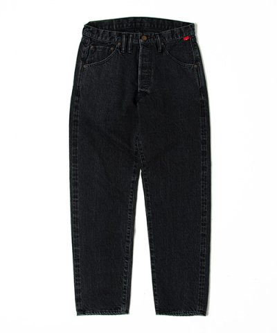 ANACHRONORM / WASHED BLACK SLIM JEAN