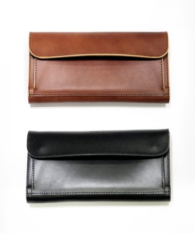 THE SUPERIOR LABOR / out side pocket long wallet
