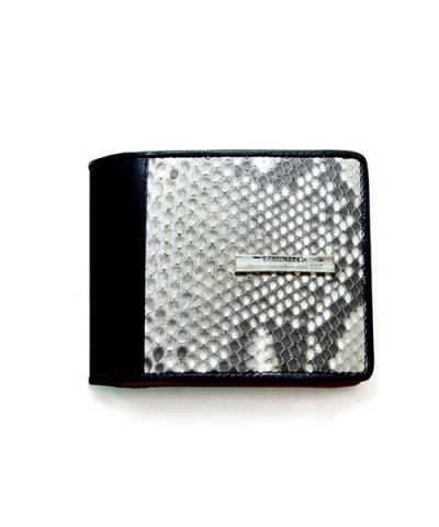 GARNI / Diamond Python Fold Wallet - In The Red
