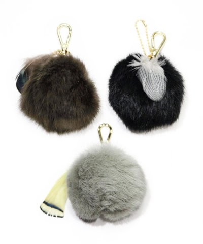 IMPORT / Fur Key Holder