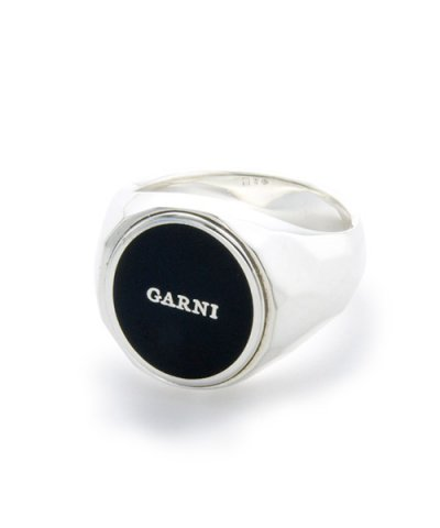 GARNI / Sign Oval Ring