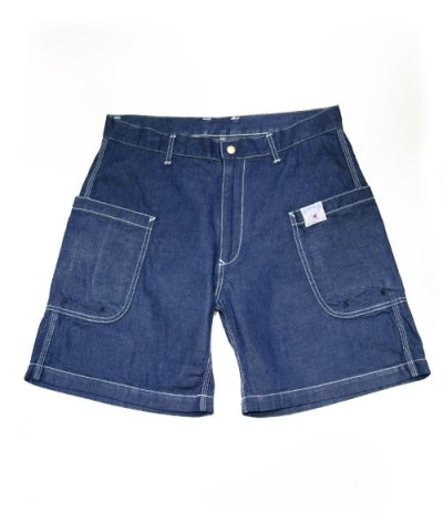 THE SUPERIOR LABOR / BBW Shorts-DENIM