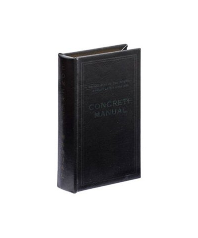 PUEBCO / EMPTY BOOK Concrete Manual BK