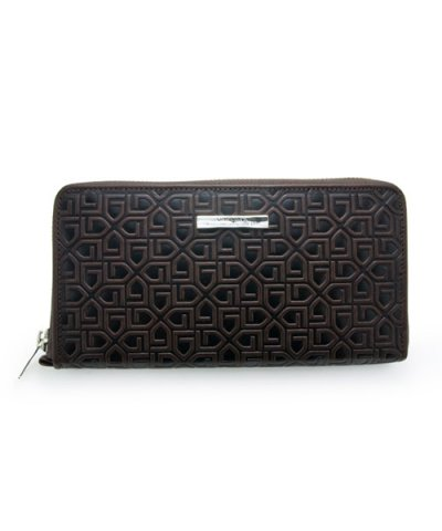 GARNI / G Pattern Zip Long Wallet
