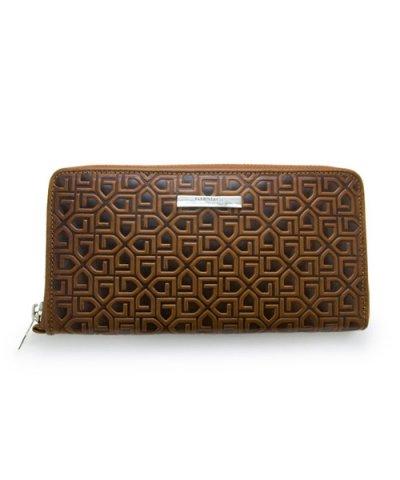 GARNI / G Pattern Zip Long Wallet