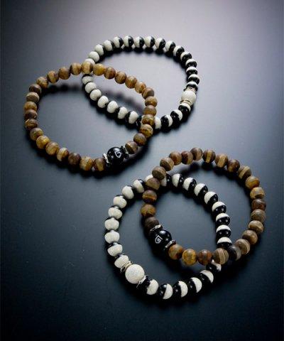 GARNI / Dzi Beads Bracelet