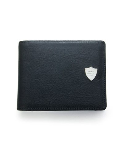 GARNI / Shield Fold Wallet - BLACK