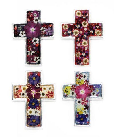 IMPORT / FLOWER CROSS 8×11