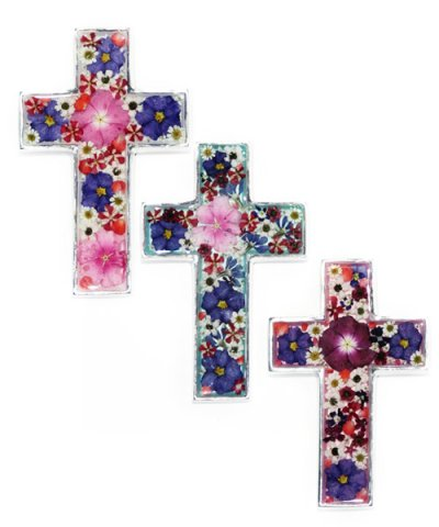 IMPORT / FLOWER CROSS 10×16