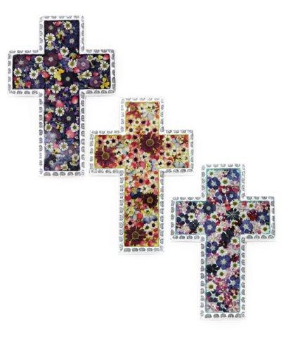 IMPORT / FLOWER CROSS 15×21