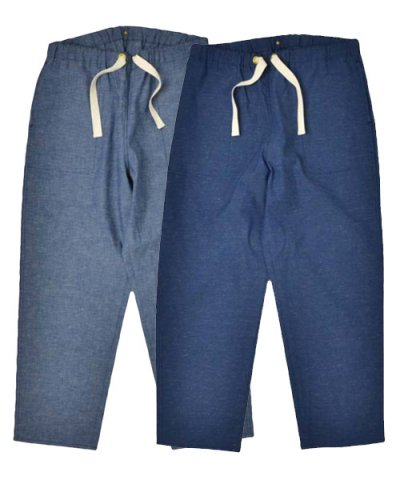 ANACHRONORM / CHAMBRAY EASY PANTS