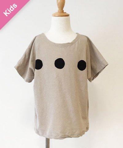 Children -Baby&Kids- / guno. ドットTシャツ:ベージュ