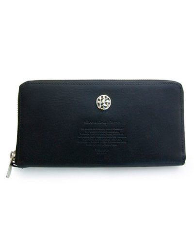 GARNI / Woven Stamp Zip Long Wallet