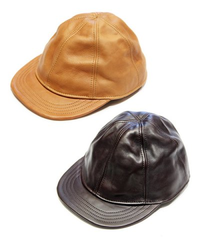 THE SUPERIOR LABOR / Leather Baseball Cap