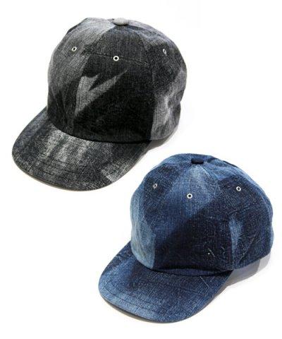 ANACHRONORM / DENIM LEATHER BUCKLE CAP