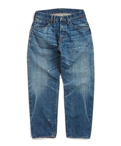 ANACHRONORM / WASHED DENIM WIDE JEANS