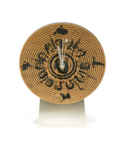AG / L.S.P WOOD CLOCK