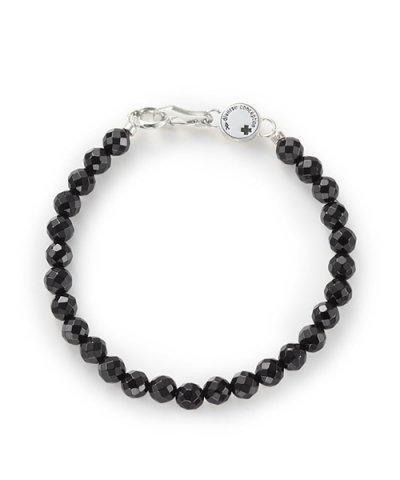 GARNI / Cutting Stone Bracelet:Black