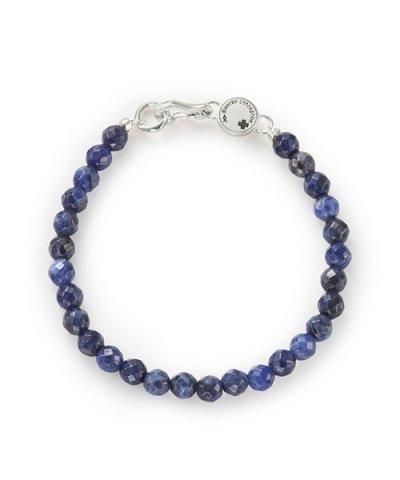 GARNI / Cutting Stone Bracelet: Blue