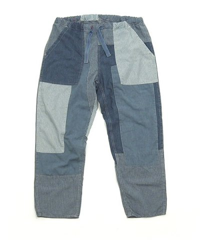 ANACHRONORM / PATCHWORK TAPERD EASY PANTS